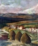 1953 North Spain, acuarela